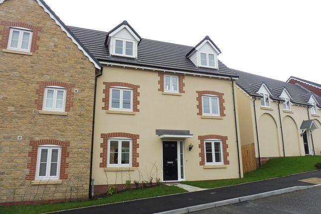 Thumbnail Semi-detached house for sale in Cyfarthfa Mews, Clwydyfagwyr, Merthyr Tydfil