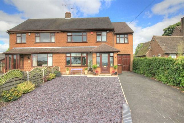Thumbnail Semi-detached house for sale in Blythe Bridge Road, Caverswall, Stoke-On-Trent