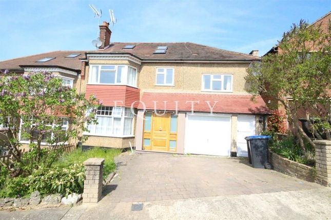 Thumbnail Semi-detached house for sale in Park Way, Enfield