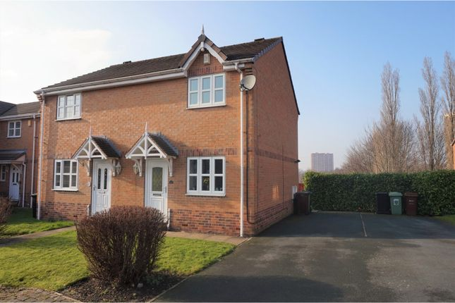 Thumbnail End terrace house for sale in St. James Close, Leeds