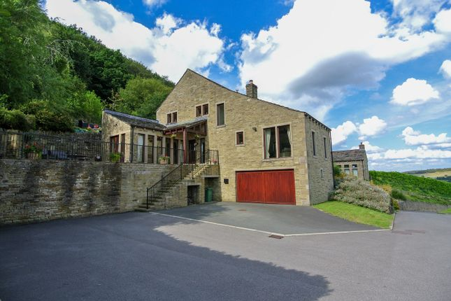 Thumbnail Detached house for sale in Mission View, Arrunden, Holmfirth