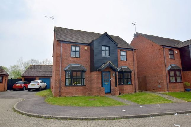Thumbnail Detached house for sale in Wolston Meadow, Middleton, Milton Keynes