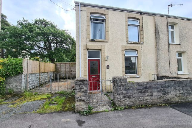 Thumbnail End terrace house for sale in Church Road, Seven Sisters, Neath