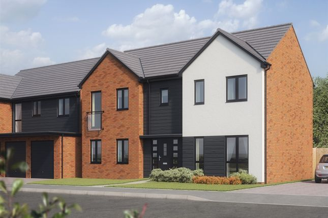 "Thumbnail Detached house for sale in ""The Bond"" at Rhodfa Lewis, Old St. Mellons, Cardiff"