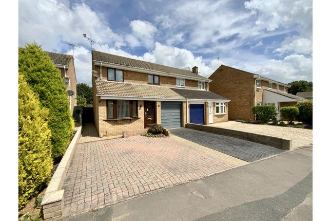 Thumbnail Semi-detached house for sale in Matley Moor, Swindon