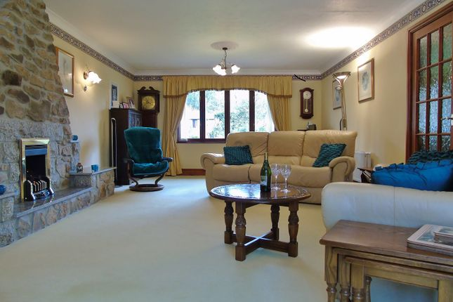 Thumbnail Detached bungalow for sale in Riverside, Angarrack, Hayle, Cornwall.