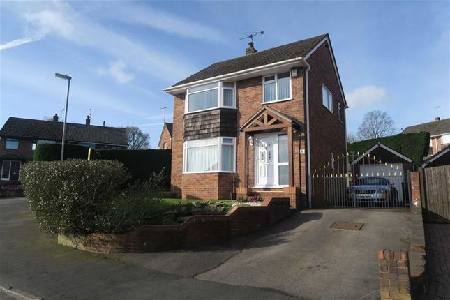 Thumbnail Detached house for sale in Beverley Crescent, Forsbrook, Stoke-On-Trent