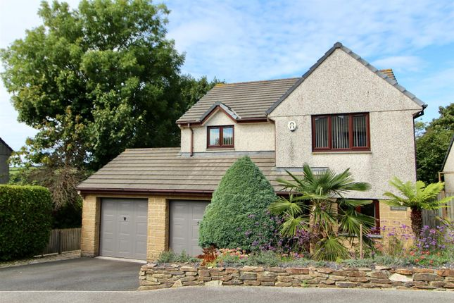 Thumbnail Detached house for sale in Gwarth An Drae, Helston