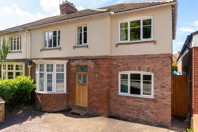 Thumbnail Semi-detached house for sale in London Road, Shrewsbury