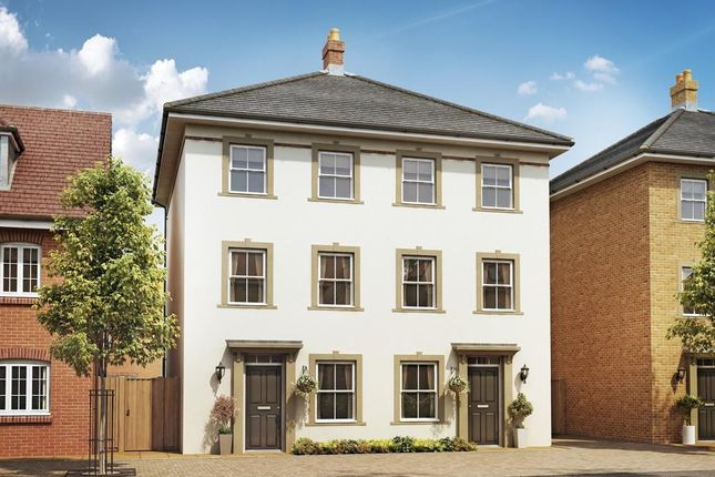 """Thumbnail Semi-detached house for sale in """"Cannington"""" at Alwin Court, Great Denham, Bedford"""