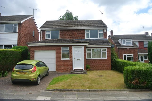 Thumbnail Detached house to rent in Lonscale Drive, Styvechale, Coventry