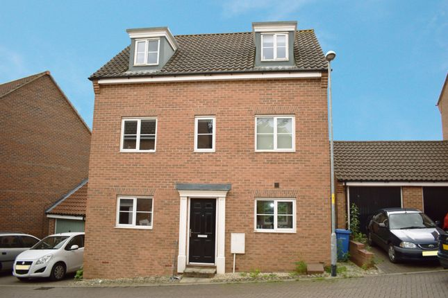 Thumbnail Detached house to rent in Attoe Walk, Norwich, Norfolk