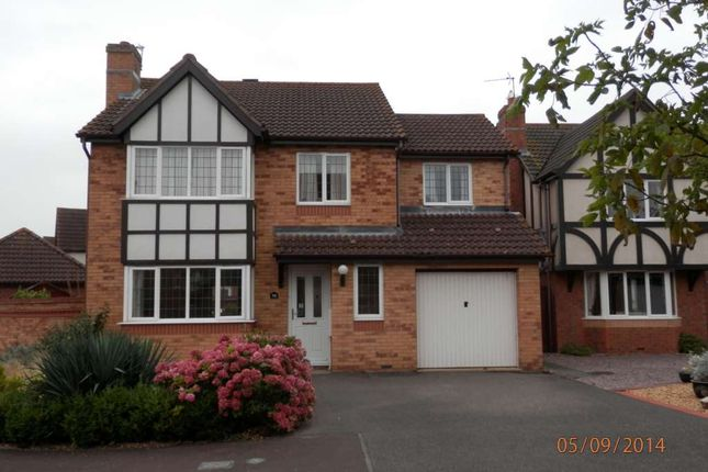 Thumbnail Detached house to rent in Barringer Way, St. Neots