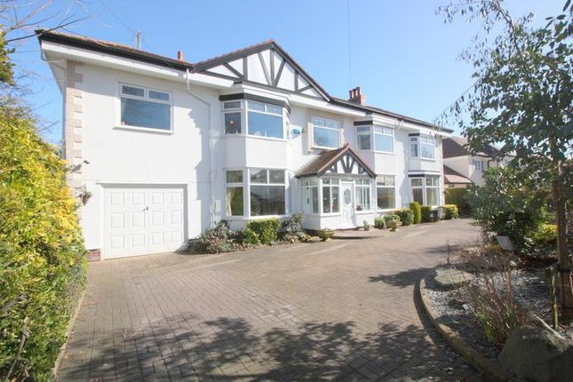 Thumbnail Detached house for sale in Far Moss Road, Crosby, Liverpool