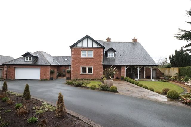 Thumbnail Detached house for sale in 14 Scotby Village, Scotby, Carlisle, Cumbria