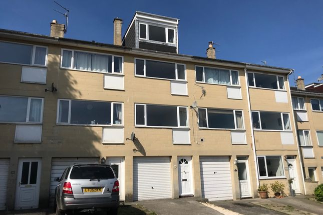 Thumbnail Terraced house to rent in Solsbury Way, Bath