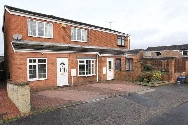 Thumbnail Semi-detached house for sale in Taylor Crescent, Woodsetts, Worksop, South Yorkshire