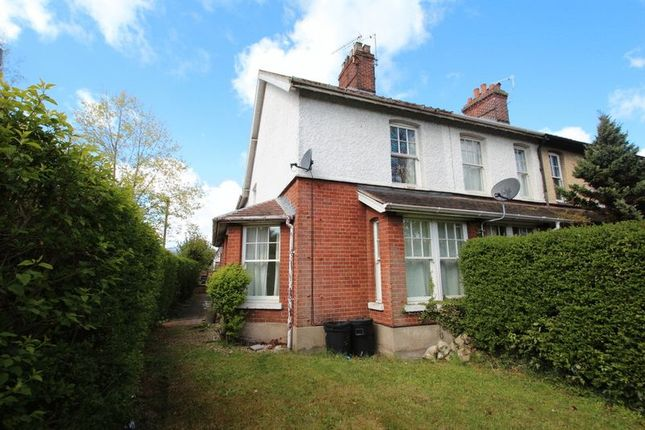 Thumbnail End terrace house for sale in Waldeck Road, Norwich