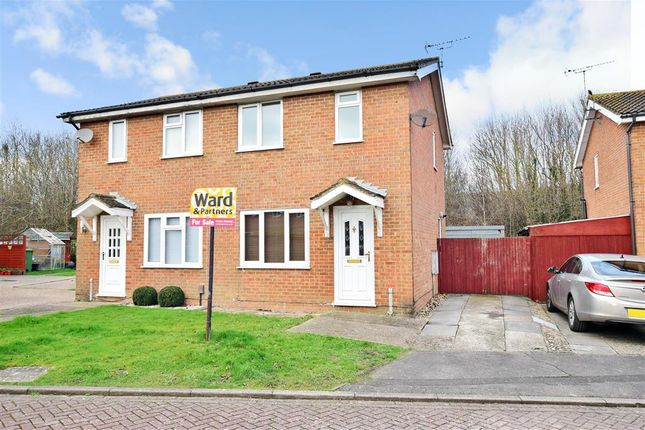 Thumbnail Semi-detached house for sale in Firs Lane, Folkestone, Kent