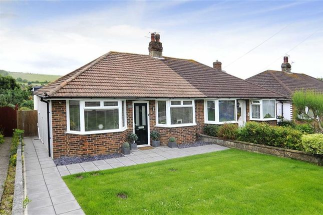 Thumbnail Semi-detached bungalow for sale in Vale Walk, Findon Valley, Worthing, West Sussex