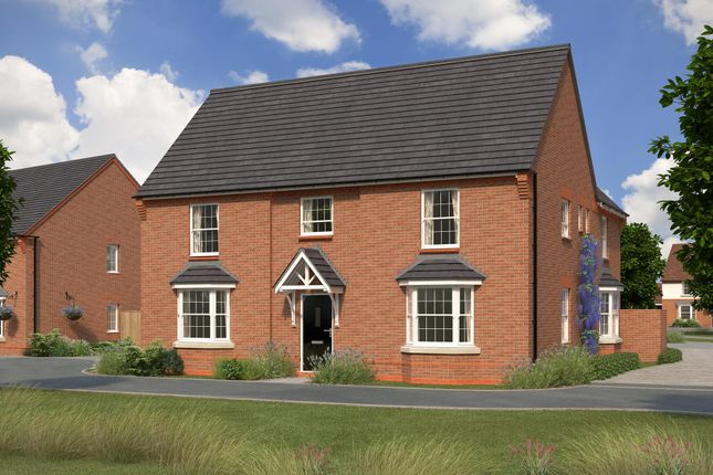 "Thumbnail Detached house for sale in ""Henley"" at Bush Heath Lane, Harbury, Leamington Spa"