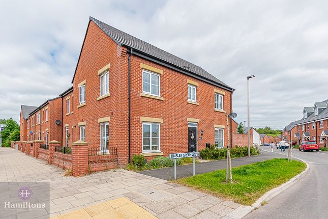 4 bed end terrace house for sale in Tinsley Green Way, Pennington Wharf, Leigh, Greater Manchester. WN7