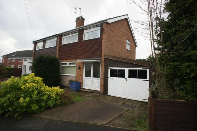 Thumbnail Semi-detached house to rent in The Croft, Draycott, Derby