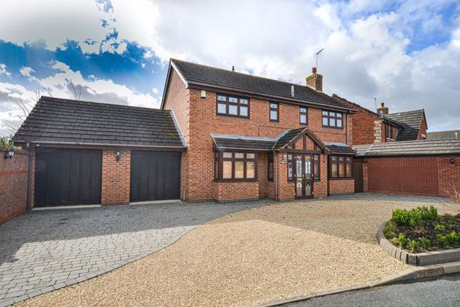 Thumbnail Detached house for sale in Coldicott Gardens, Evesham