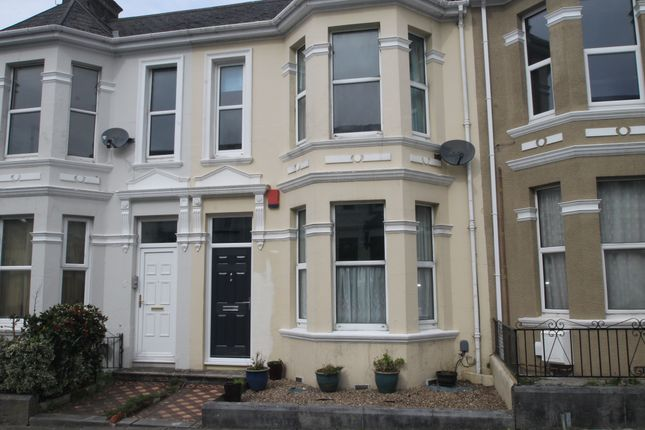 Thumbnail 3 bed terraced house to rent in Old Park Road, Peverell