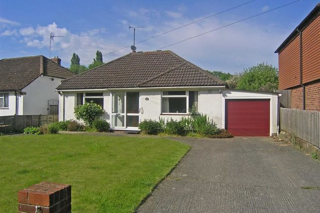 Thumbnail Detached bungalow for sale in Church Road, Sevington, Ashford
