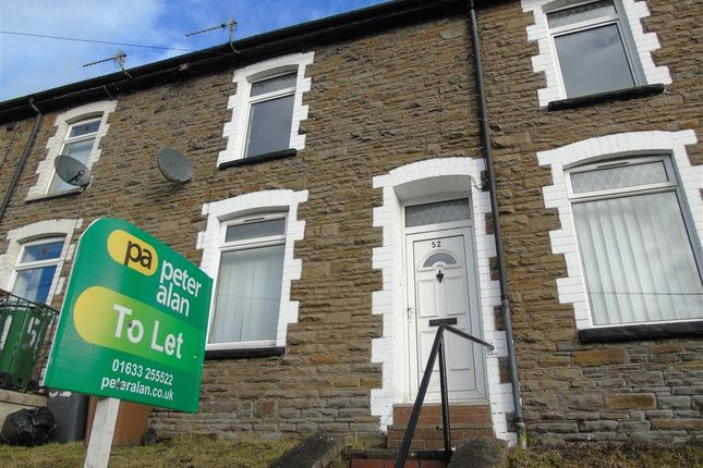 Thumbnail Terraced house to rent in Queens Road, Elliots Town, New Tredegar