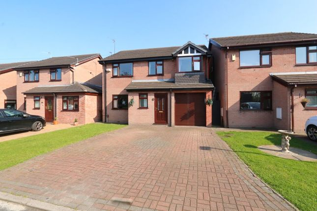 Thumbnail Detached house for sale in Redwood Drive, Audenshaw, Manchester