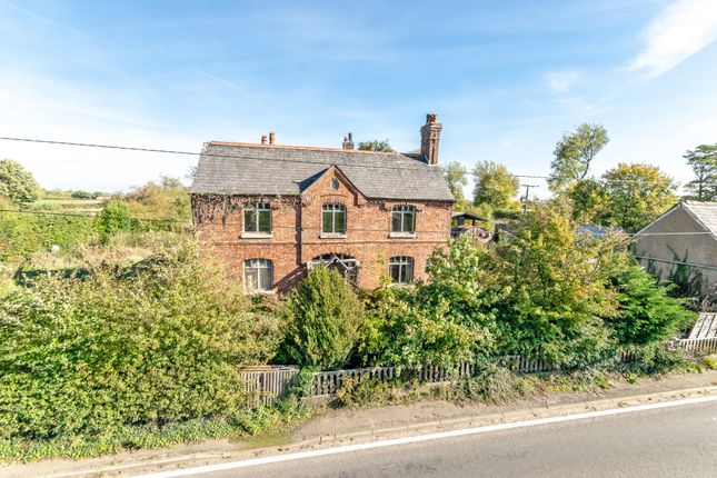 Thumbnail Detached house for sale in Northwich Road, Higher Whitley, Warrington