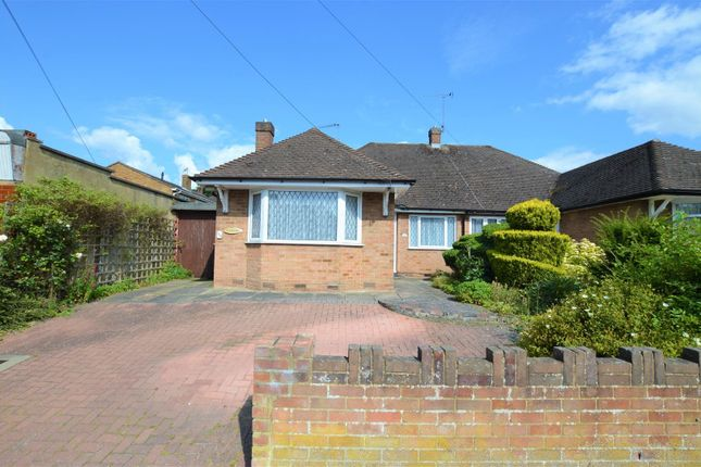 Thumbnail Semi-detached bungalow for sale in Chiltern Road, Dunstable, Bedfordshire
