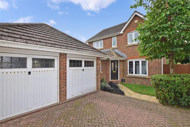 Thumbnail Detached house for sale in Collins Close, Eastergate, Chichester, West Sussex