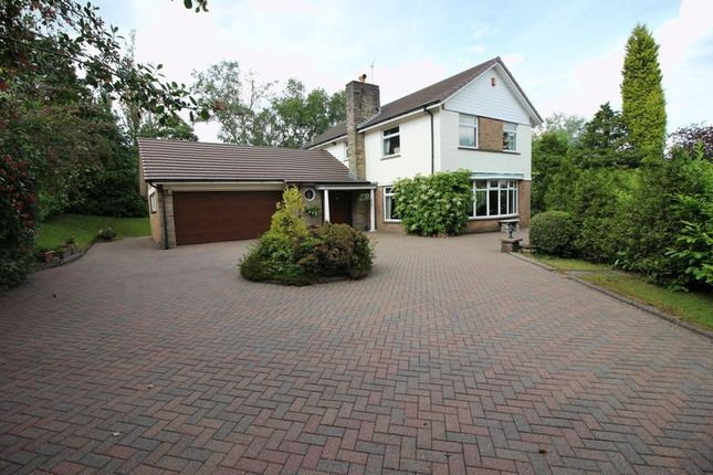 Thumbnail Detached house for sale in Clay Lake, Endon, Staffordshire