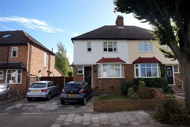 Thumbnail Semi-detached house for sale in Kechill Gardens, Hayes, Bromley