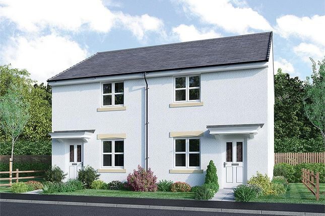 """Thumbnail Mews house for sale in """"Ainslie Mid"""" at Broomhouse Crescent, Uddingston, Glasgow"""