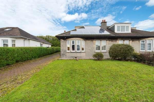 Thumbnail Semi-detached bungalow for sale in 70 Birkhall Avenue, Cardonald, Glasgow