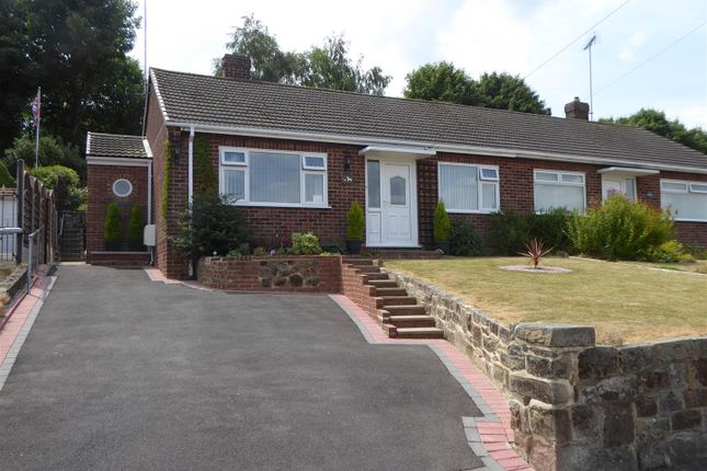 Thumbnail Semi-detached bungalow for sale in Winchester Drive, Midway, Swadlincote