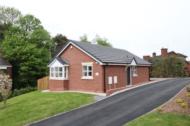 Thumbnail Bungalow for sale in Canal Road, Congleton
