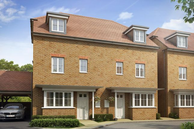"Thumbnail Semi-detached house for sale in ""Woodbridge"" at Dorman Avenue North, Aylesham, Canterbury"