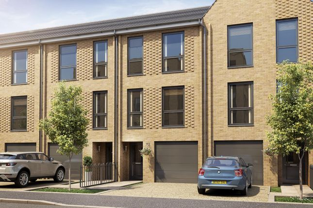 "Thumbnail Terraced house for sale in ""Calico"" at Hackbridge Road, Wallington"