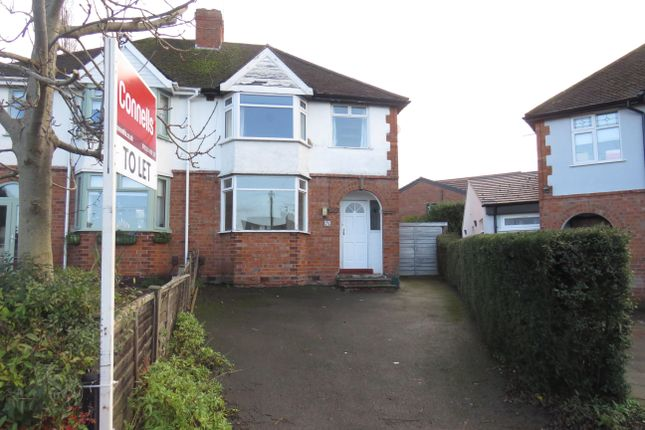 Thumbnail Semi-detached house to rent in Taylor Avenue, Leamington Spa