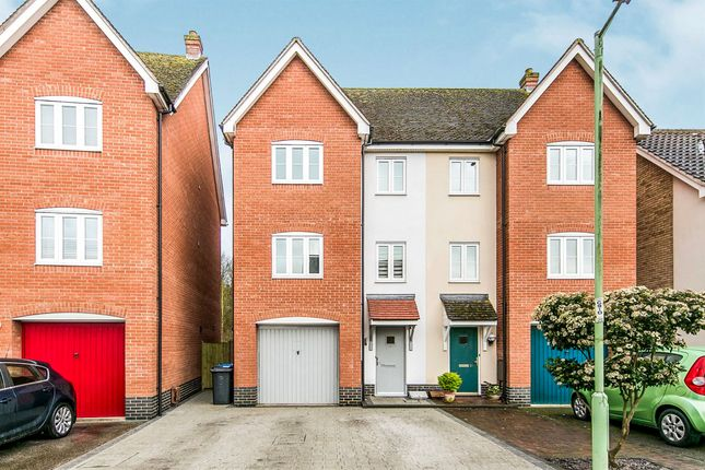 Thumbnail Semi-detached house for sale in Corporal Lillie Close, Sudbury