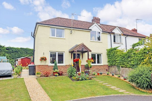 Thumbnail 2 bed semi-detached house for sale in Warnford Road, Corhampton, Southampton