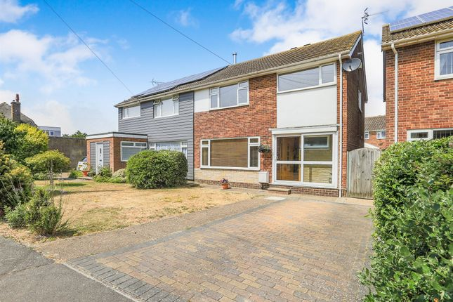 Thumbnail Semi-detached house for sale in Coast Road, Pevensey Bay, Pevensey