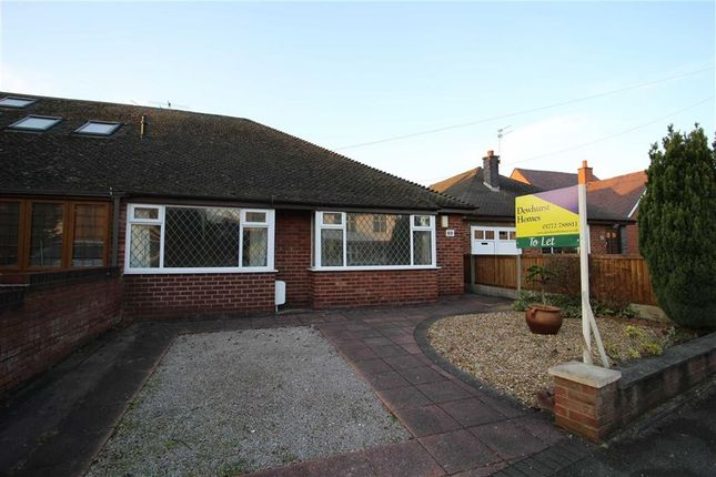 Thumbnail Semi-detached bungalow to rent in Hawkhurst Avenue, Fulwood, Preston