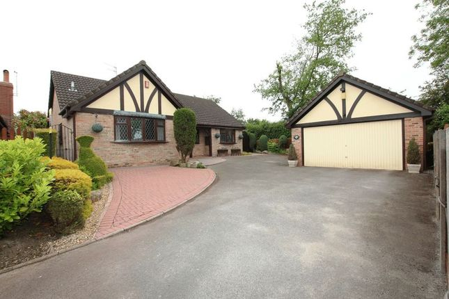 Thumbnail Detached bungalow for sale in Field View, Biddulph, Stoke-On-Trent