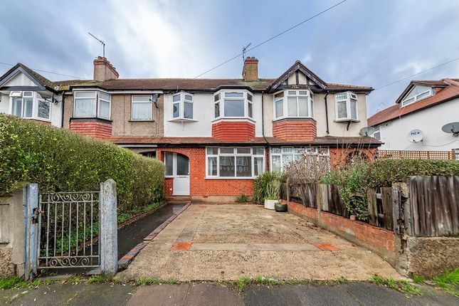 Thumbnail Terraced house to rent in Lynmouth Road, Greenford